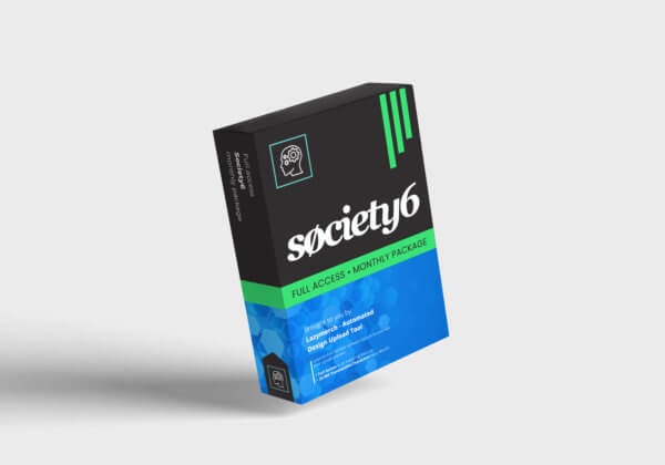 Lazymerch Society6 Monthly Full Access