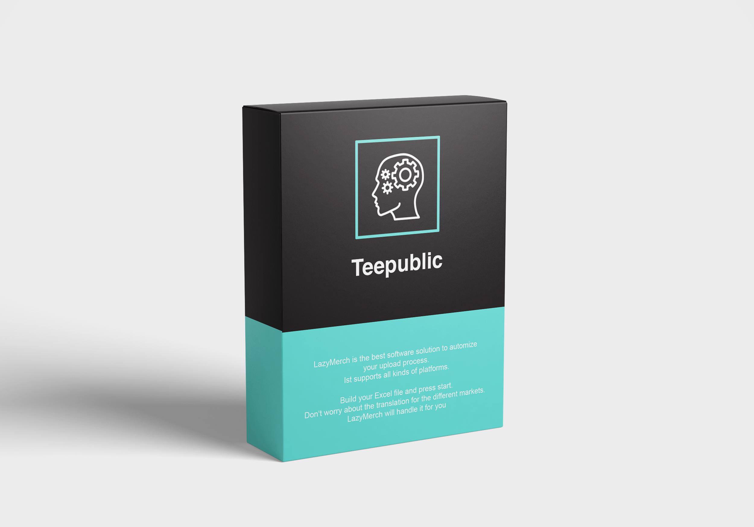 Teepublic monthly package