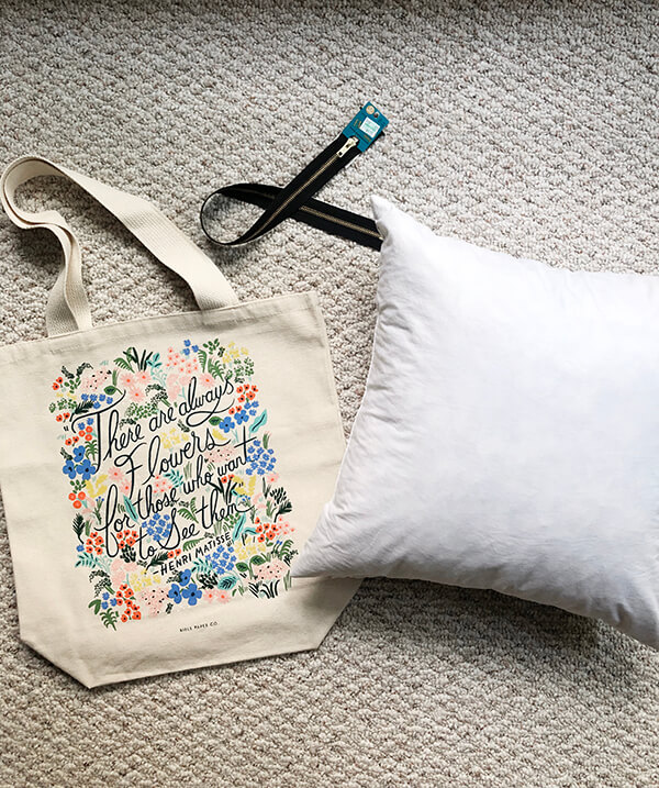 Tote Bags & Throw Pillows