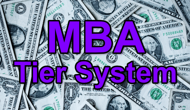 MBA Tier System explained