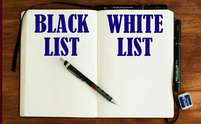 Whitelist & Blacklist Feature