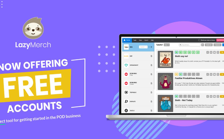 Free Accounts jetzt verfügbar